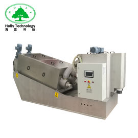 China Muti Plate Automatic Sludge Dewatering Machine Wastewater Treatment Sludge Disposal supplier