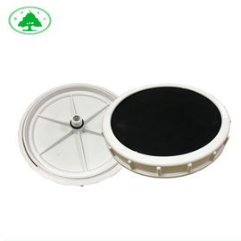 China Microhole 9 Inch  Membrane Disc Diffuser For Etp Plant  , Fine Bubble Aerator For Ponds supplier