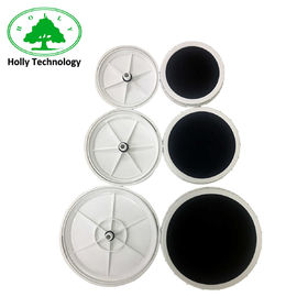 China 220 Mm Imported Membrane Disc Diffuser ,  Nano Micro Bubble Air Diffuser For Aeration supplier