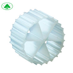 China HDPE Plastic Biofilm MBBR Filter Media For Wastewater Treatment Good Hydrophile supplier