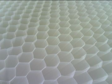 China Plastic Tube Settler Media Wastewater Treatment  Hexagon Honeycmb Blue White supplier