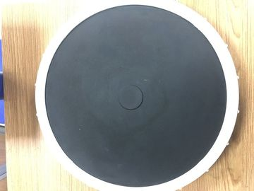 China Black Nano Bubble Diffuser , Membrane Disc Diffuser For Fish Aquaculture Water Treatment supplier