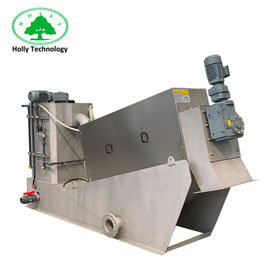 China Poultry Sludge Press Machine , Dung Dehydrator Machine Long Life Time supplier