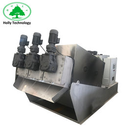 China Belt Press Sludge Dewatering Machine , Sewage Treatment Plant For Wastewater Treatment supplier