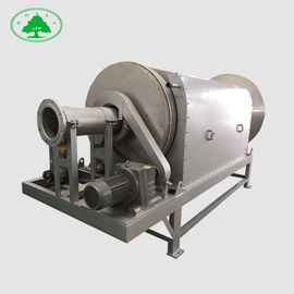 China Screen Internal Feed Rotary Drum Filter , Water Treatment Soild Liquid Separator distributor