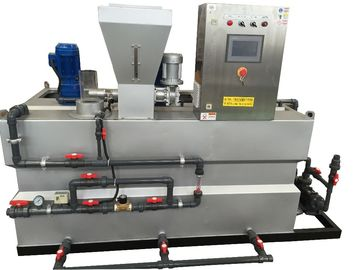 China Automatic Feeding Unit Dry Powder Mixing Polymer Dosing System Chemical Processing distributor