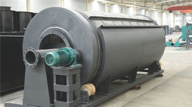 China Internal Feed Rotary Drum Filter For Pond  Wastewater Sludge Treatment φ600*900 distributor