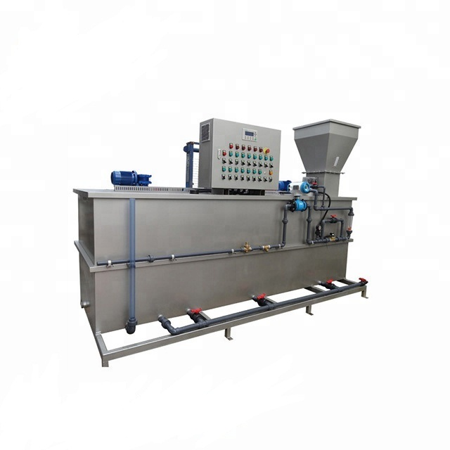 Food Processing Chemical Dosing System Water Treatment Plant For Sludge Dewatering