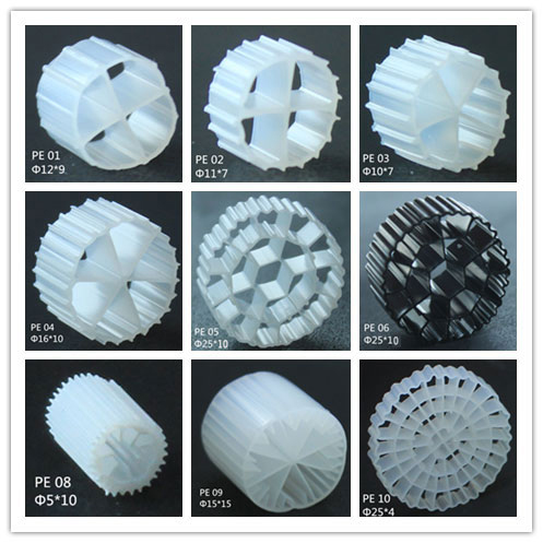 HDPE Plastic MBBR filter media for RAS System